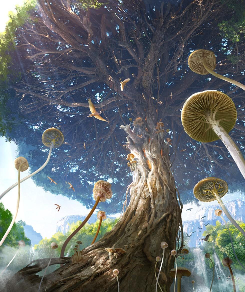 avant choi - giant tree