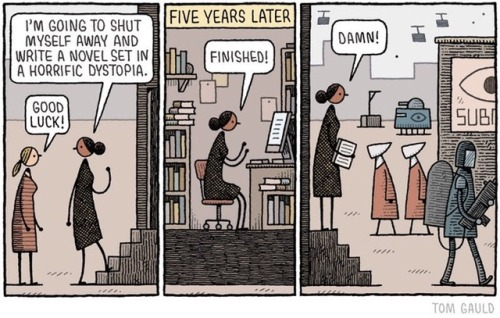Dystopia by Tom gauld