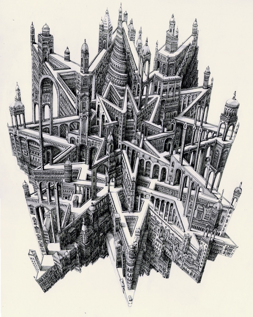 Ben Sack imaginary cities