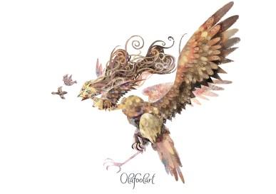 ddaddy star olafool-art-harpy