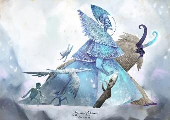 ddaddy star olafool-art-snow-queen
