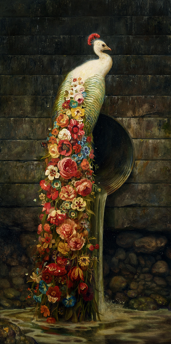 Martin Wittfooth painting