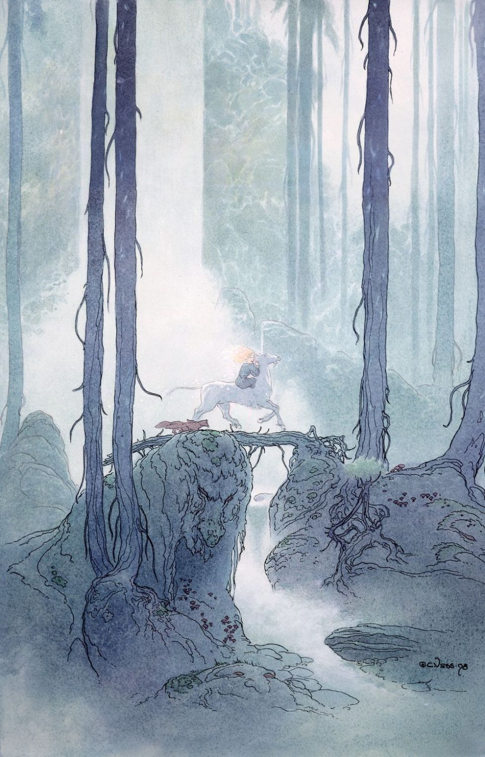 charles vess - in the deep wood