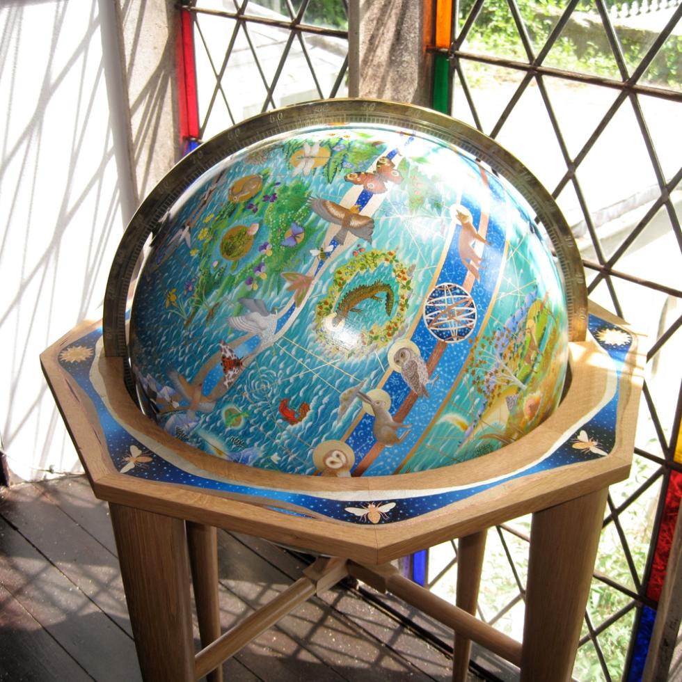 Fiona Owen 4 globe