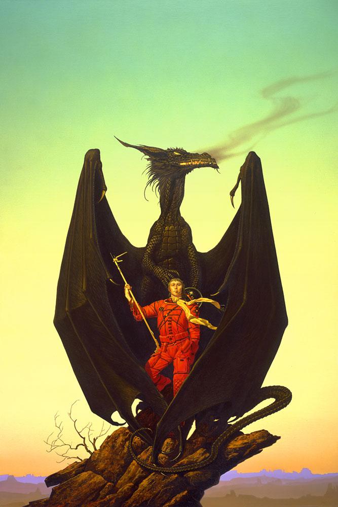 Michael Whelan amazing dragon