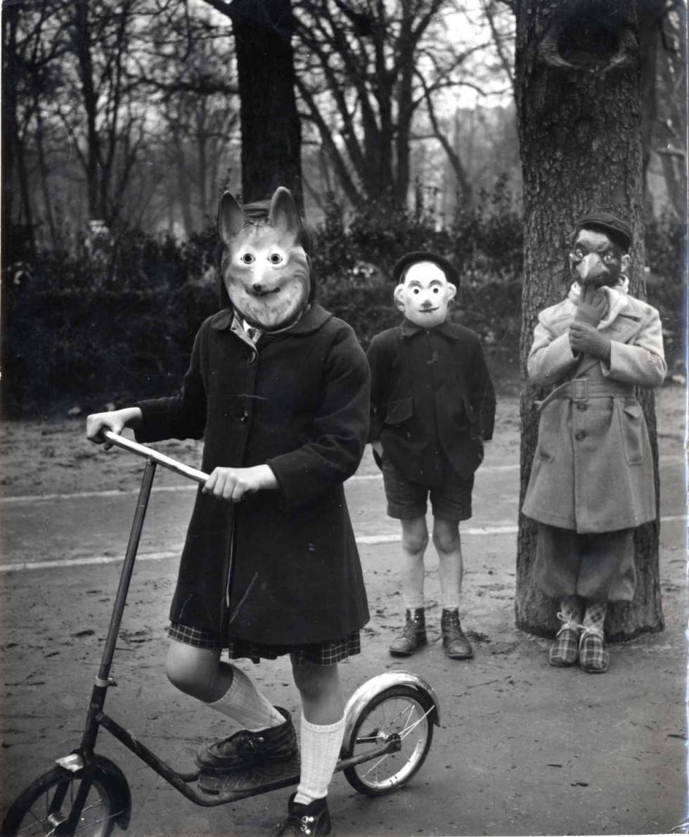 Agnès Varda, Enfants masqués, 1953