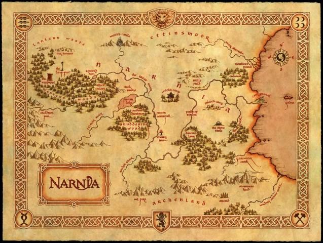 Narnia-Map-Geoawesomeness