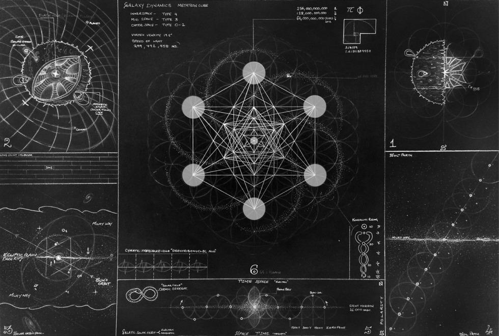 Metatron diagram