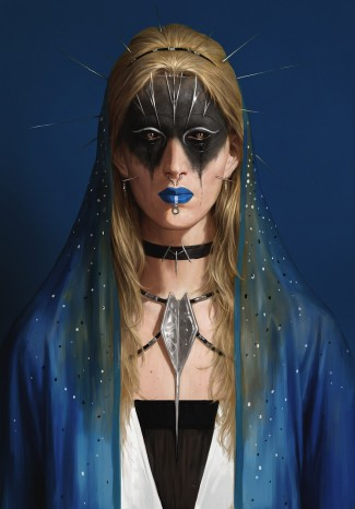 face-zero-blue