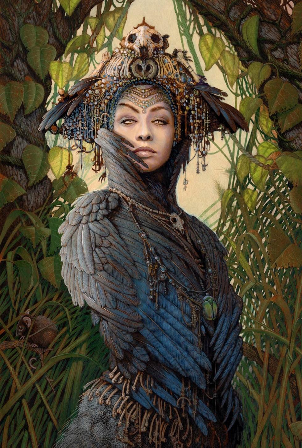 ed binkley - corvid priestess