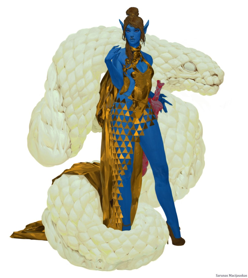 sarunas macijauskas - elf warrior