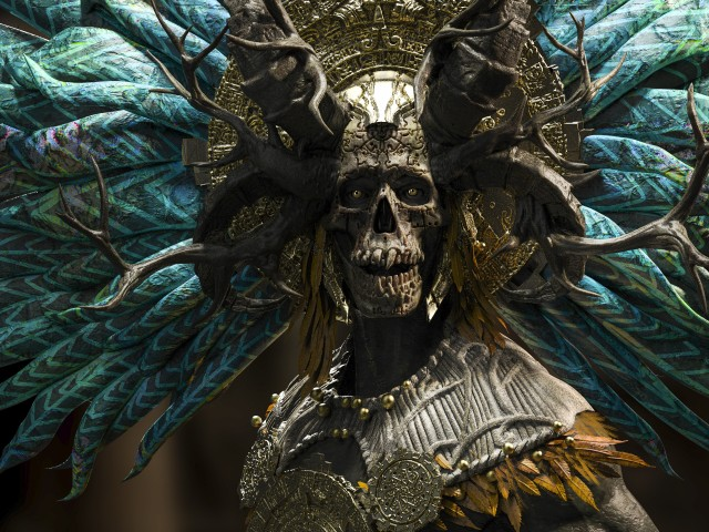 Aztec demon